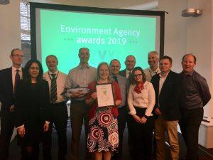 The winning Environment Agency Team