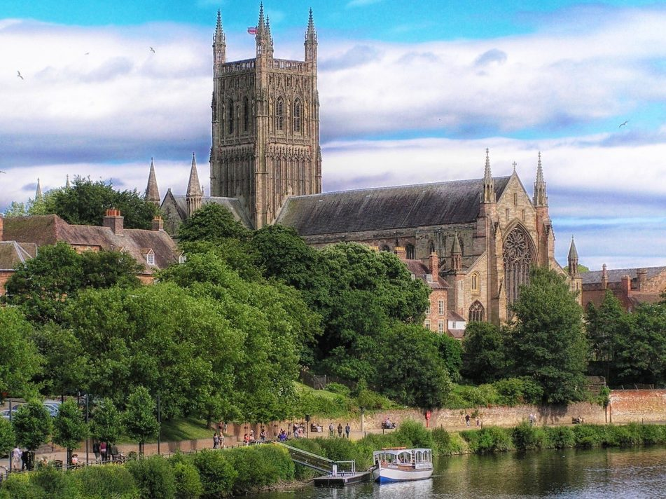 Worcester Cathedral by David Mark