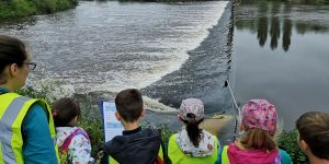 Children Taking Part in a Shad Count