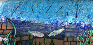 shad fish on shadventure animated film from unlocking the severn met a weir